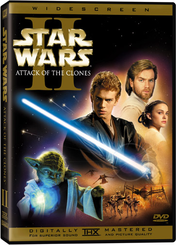 Star Wars Episode 2, Attack Of The Clones
